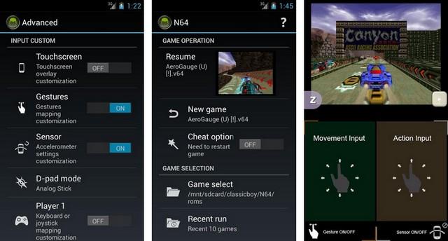 ClassicBoy Emulator - meilleur émulateur pour Android