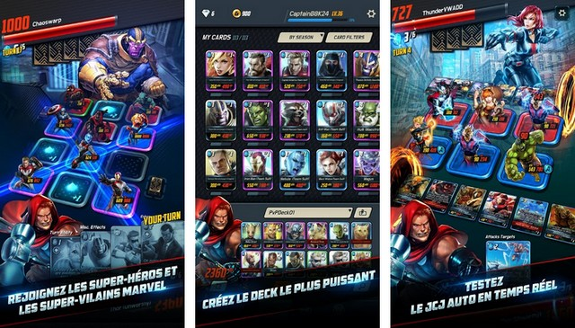 Marvel Battle Lines - jeu de super héros