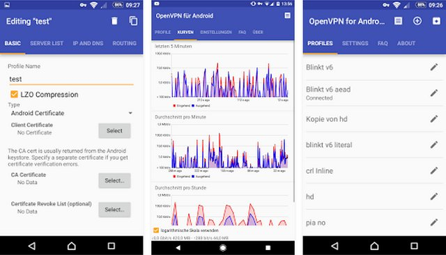 ProtonVPN - meilleurs VPN sur Android