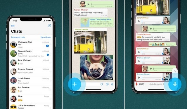 WhatsApp - application de chat vidéo