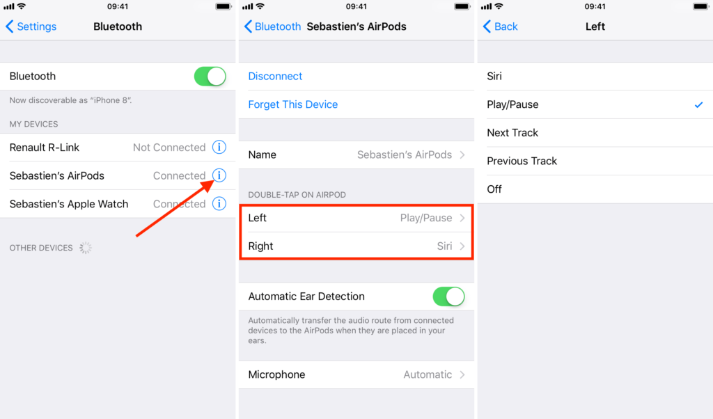 Comment Personnaliser Vos Raccourcis Airpods Info24android