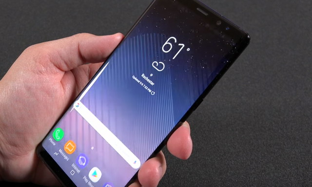 comment faire une capture d u0026 39  u00e9cran sur samsung galaxy note 8