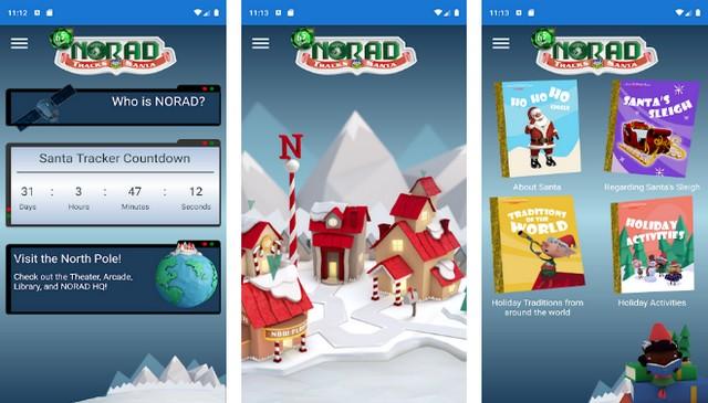 NORAD Tracks Santa - best Christmas app