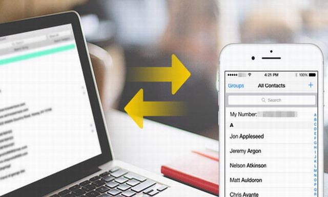 Comment transférer facilement des contacts iPhone vers Gmail