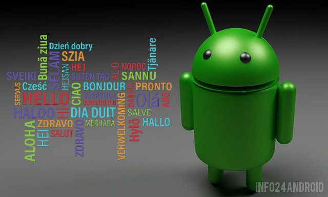 How to change the language on Android
