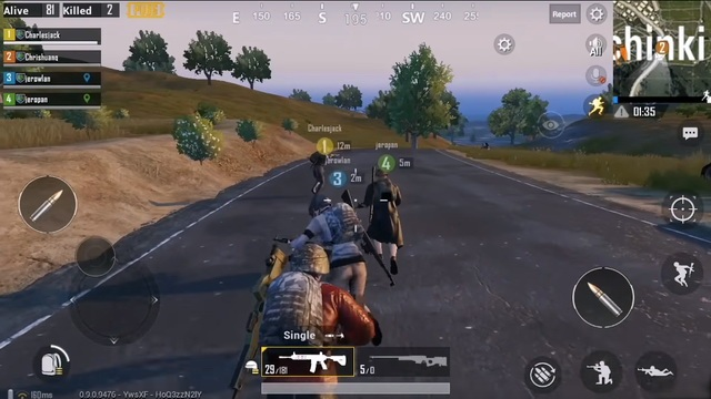 PUBG Mobile - meilleur jeu FPS