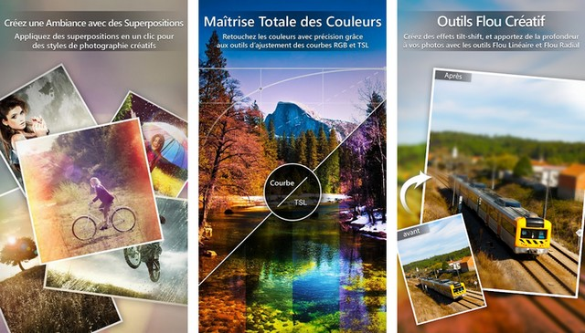 PhotoDirector - application de retouche photo