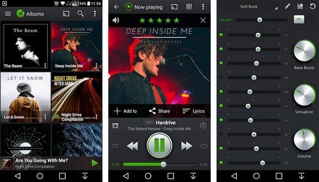 PlayerPro - lecteurs de musique pour Android