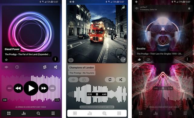 Poweramp - lecteurs de musique pour Android