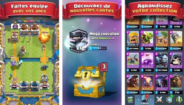 Clash Royale - jeu de cartes