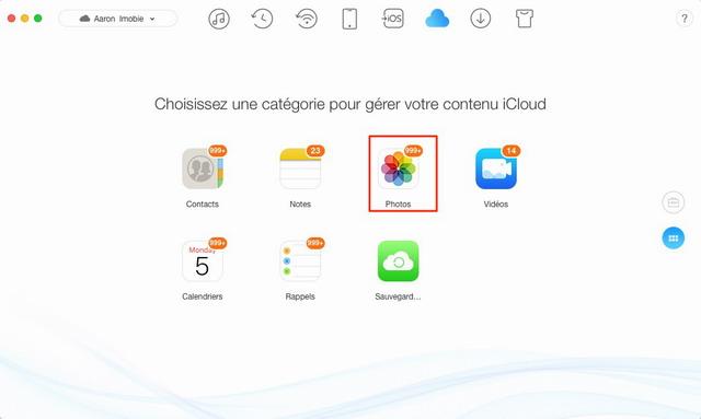 Problème rencontré : Comment débloquer iPhone/iPad bloqué iCloud Partie 2. Comment extraire les photos iCloud vers PC/Mac. Pour extraire les photos depuis iCloud, il faut avoir une sauvegarde iCloud, si vous n'avez pas encore de sauvegarde, veuillez récupérer les photos depuis appareils iOS directement. Sur les étapes ci-dessous, vous obtiendrez le moyen à extraire les photos depuis ...