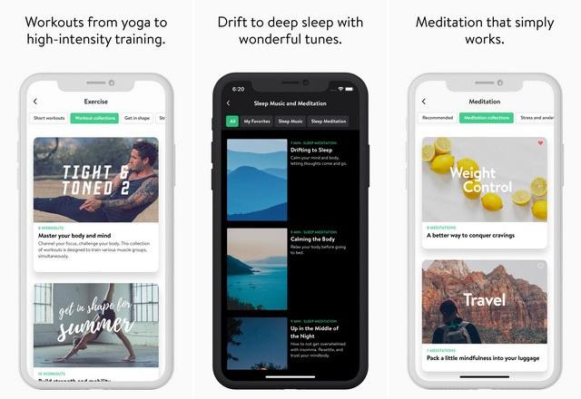 Asana Rebel - meilleure application de yoga pour iPhone