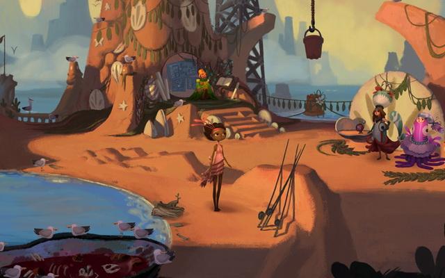 Broken Age - le meilleur jeu aventure