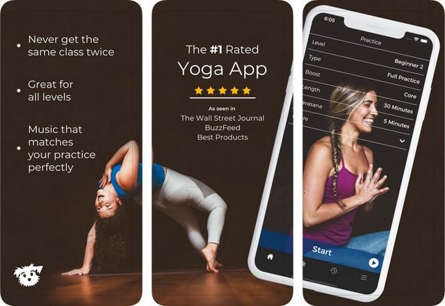 Down Dog - meilleure application de yoga pour iPhone