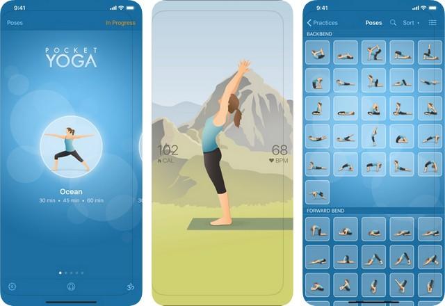 Pocket Yoga - meilleure application de yoga pour iPhone