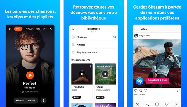 Shazam - Le meilleure application de paroles de chansons