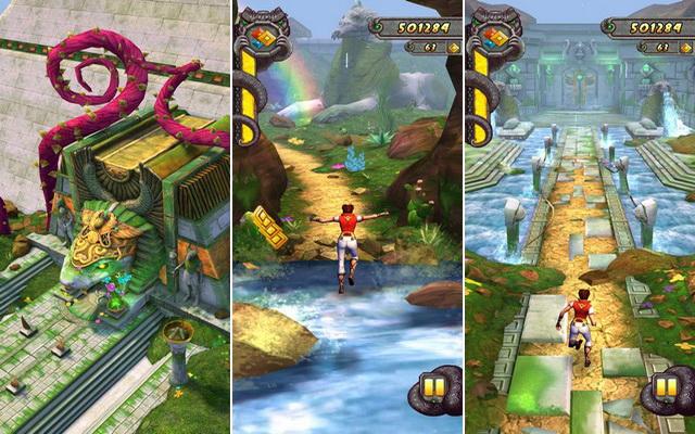 Temple Run 2 - le meilleur jeu aventure