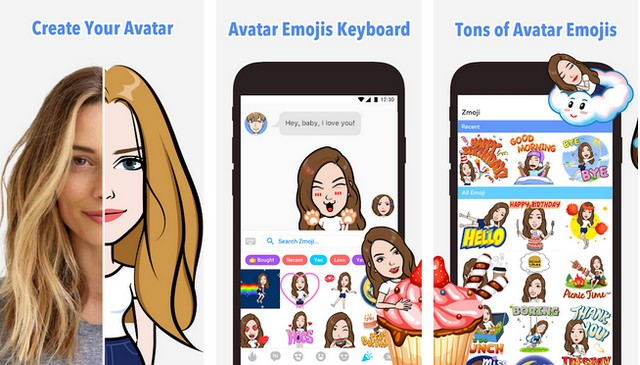 Zmoji - Application Emoji pour Android
