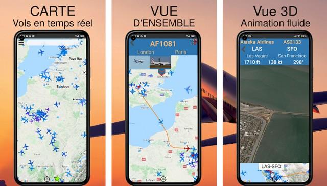 Air Traffic - application pour suivre les avions