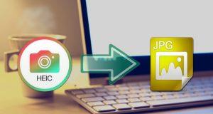 Comment convertir les images HEIC en JPG sur PC