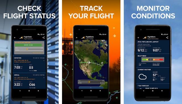 FlightStats - application pour suivre les avions