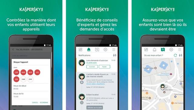 Kaspersky SafeKids Contrôle Parental