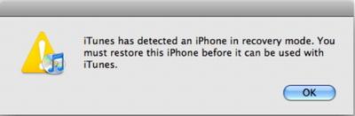 Utilisez iTunes pour corriger l'iPhone