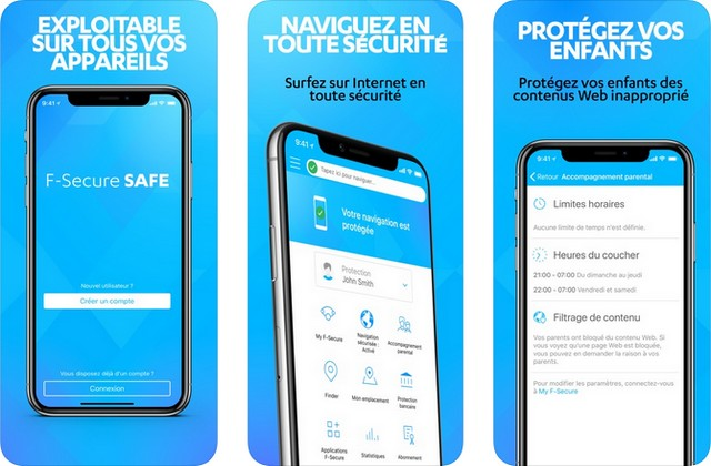 F-Secure SAFE - antivirus pour iPhone