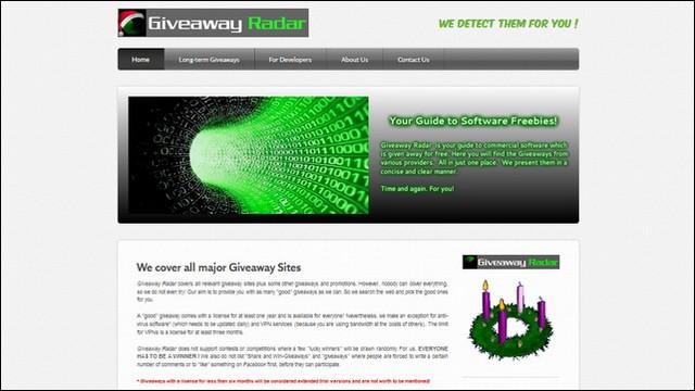 Giveaway Radar