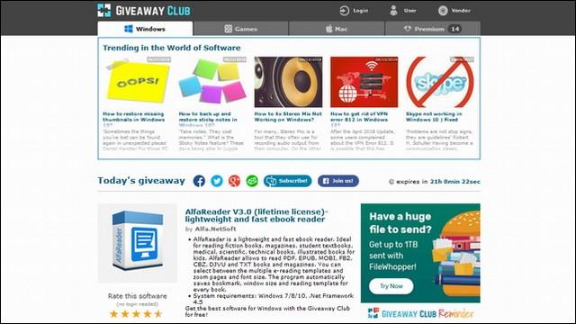 Giveaway-club