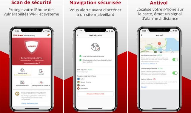 McAfee Sécurité Mobile