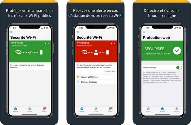 Norton Mobile Security - antivirus pour iPhone