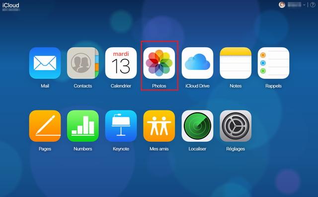 Télécharger les photos iCloud sur ordinateur