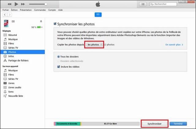 Comment Transférer Les Photos De Lordinateur Vers Iphone