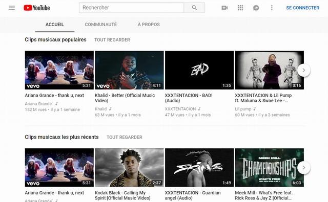 YouTube Site
