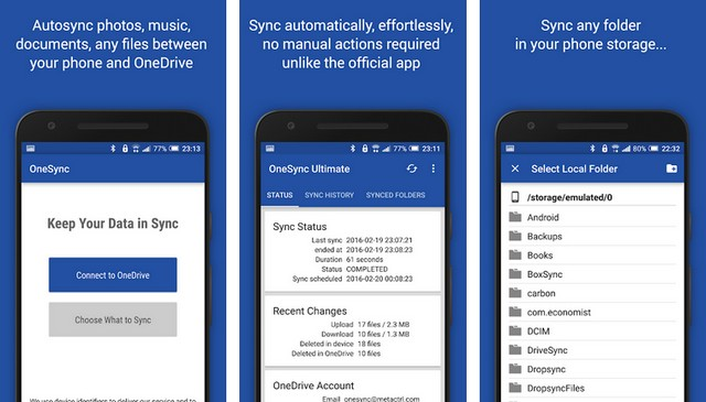 Autosync for OneDrive
