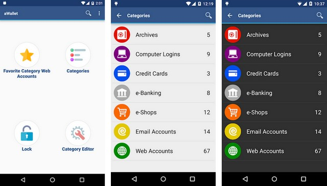 Wallet App pour Android