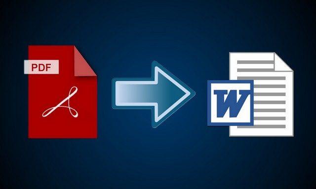 Les meilleurs convertisseurs en ligne gratuits de PDF à Word