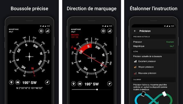 Boussole : Digital Compass