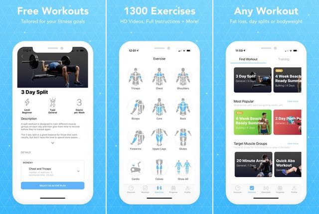 JEFIT Workout Planner