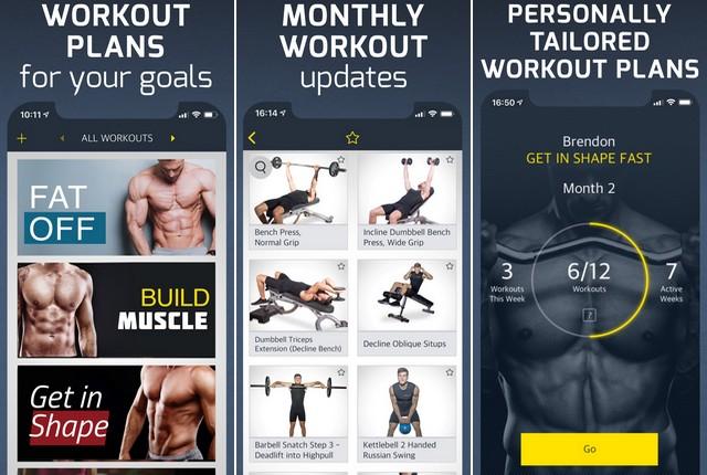 Workout - meilleure application de fitness
