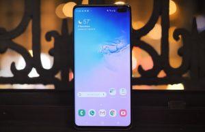 Comment faire une capture d'écran sur le Galaxy S10