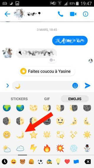activer le mode sombre sur Facebook Messenger