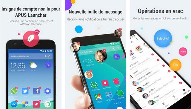 APUS Message Center - applications de notifications