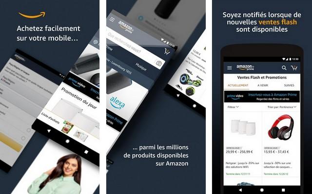 Boutique Amazon - applications de shopping