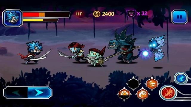 Combat Ninja - jeux de Ninja pour Android