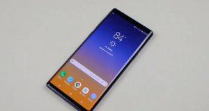 Comment activer le mode paysage sur le Galaxy Note 9