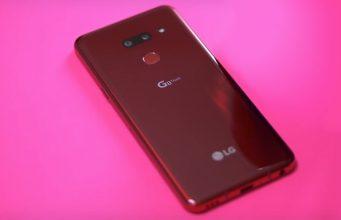 Comment faire une capture d'écran sur le LG G8