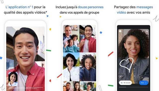 Google Duo - application de visioconférence sur Android