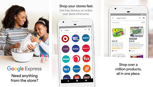 Google Express - applications de shopping